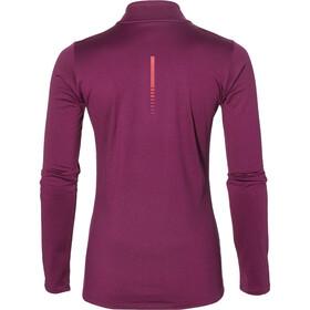 asics Winter - Camiseta manga larga running Mujer - violeta